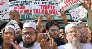 TRIPLE TALAQ BILL TABLE IN RAJYA SABHA 1 030118