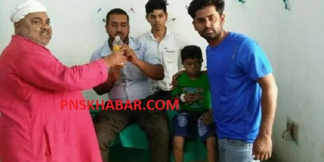 JAVED ALAM DONATE BLOOD TO HINDU CHILD 3 250518